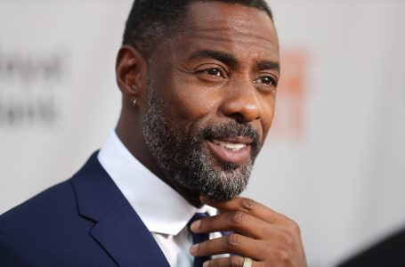 """TORONTO, ON – SEPTEMBER 10:  Actor Idris Elba speaks to the media at the premiere of """"The Mountain Between Us"""" during the 2017 Toronto International Film Festival at Roy Thomson Hall on September 10, 2017 in Toronto, Canada.  (Photo by J. Countess/WireImage)"""